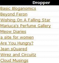 Top Droppers for February