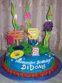 Didong Spongebob Birthday Party
