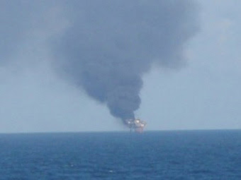 Mariner Energy Oil Rig Explosion