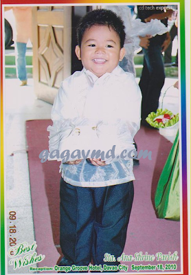 DIDONG, being Ring Bearer