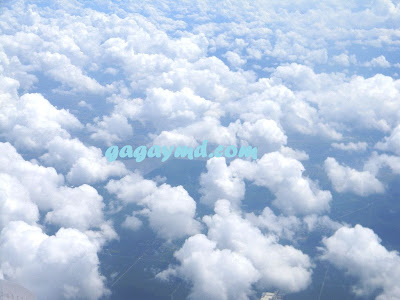 Feeling on a Cloud 9 with Fluffy Clouds