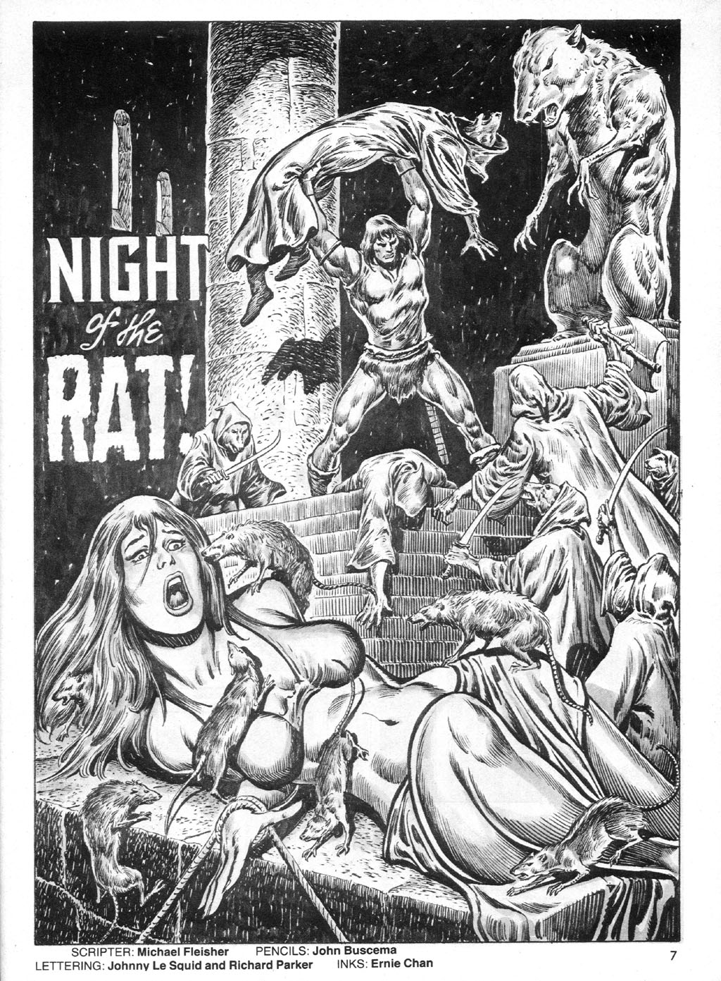 The Savage Sword Of Conan Issue #95 #96 - English 7