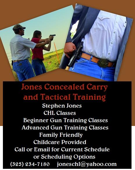 Jones Concealed Carry and Tactical Training