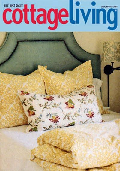 On Decorative Pillow, Sister Parish Design's Sunswick Pink.