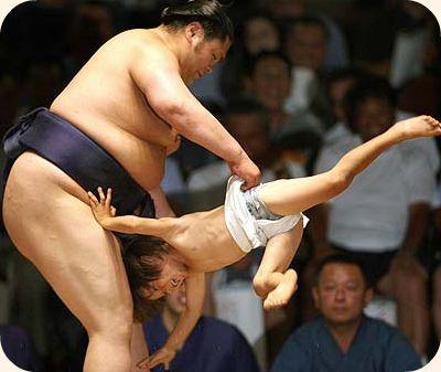 sumo wrestler funny