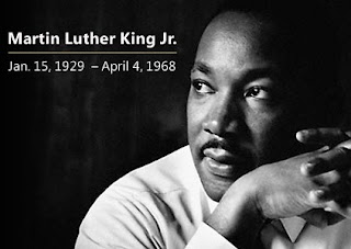 Dr Martin Luther King Jr, Civil Rights leader, click for my unborn human rights message and videos