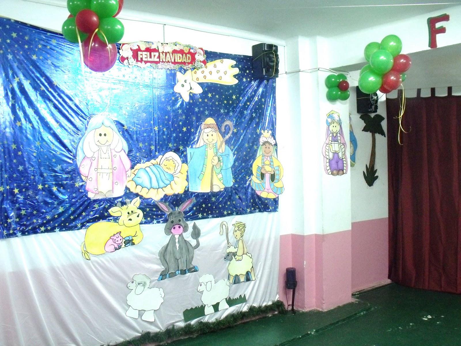 Asociacion de peruanos en galicia vigo espa a gran for Mural navideno