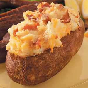potatoes  baked  potatoes