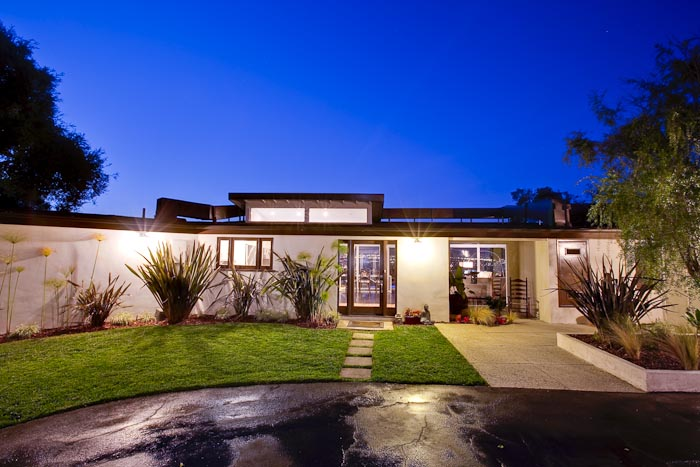 Hollywood hills mid century modern house luke gibson for Modern homes hollywood hills