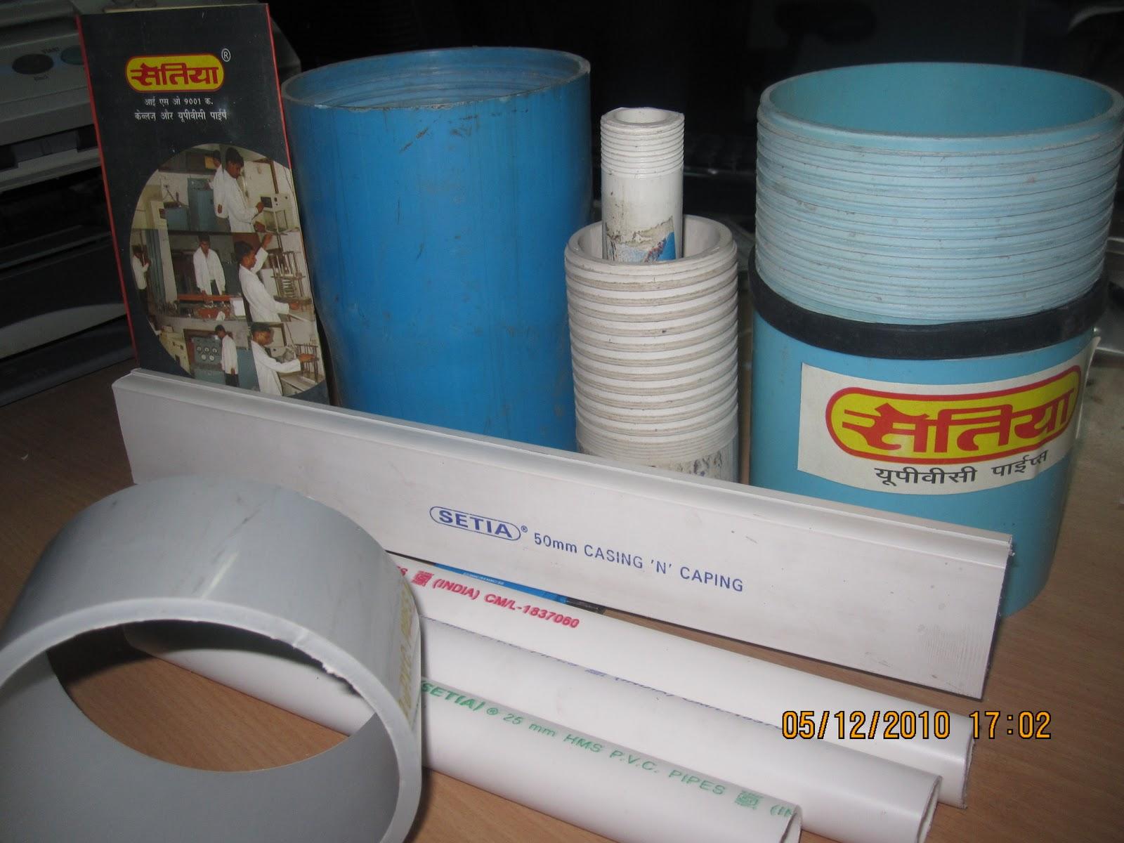 setia upvc sanitary & electric pipes