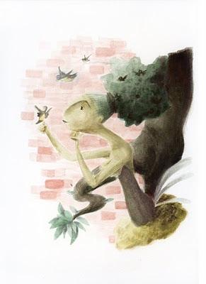 il·lustració infantil frases fetes