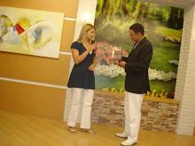 Valéria Rodrigues em Entrevistada no Programa Em Busca do Amor em BRASÍLIA, pelo Pastor Luciano