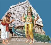 Arunagiri and Muruga