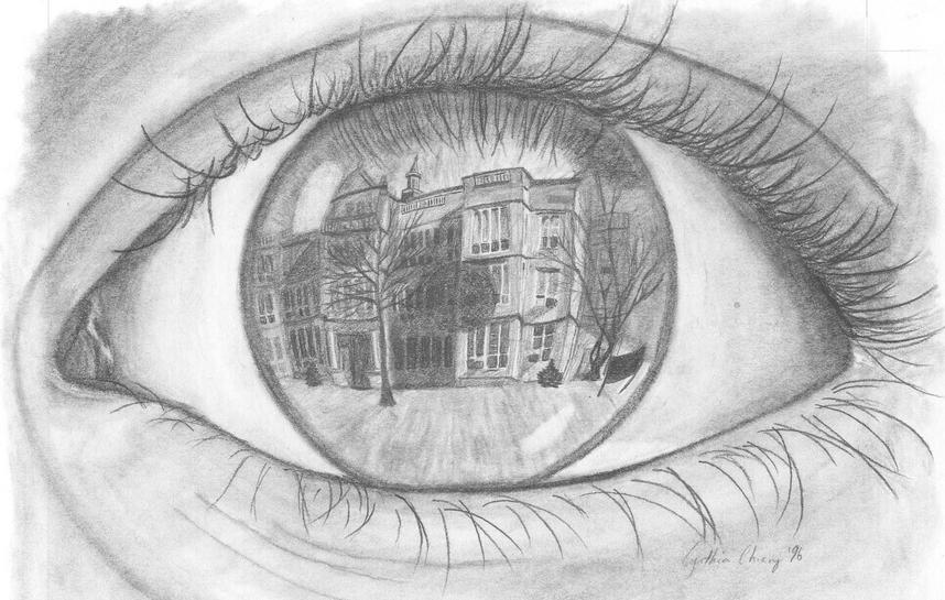 Art Drawing Ideas Eyes Unique Cool Eye Art Drawing