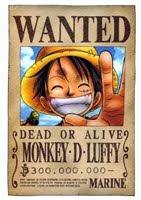MONKEY D. LUFFY 400.000.000