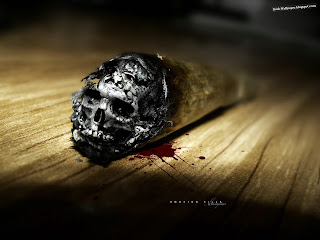 Smoking Kills HD wallpaper