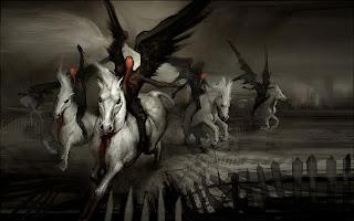 Dark Knight Angels HD Wallpaper