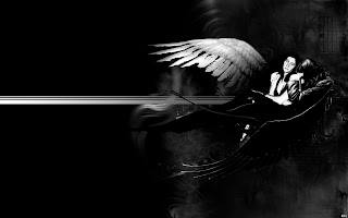 Black Dead Angel HD Wallpaper