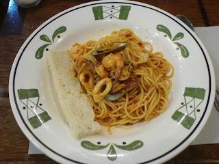 Old Spaghetti House seafood pasta