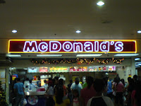 Mc Donald's Old Signage