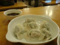 mann hann steamed dumpling