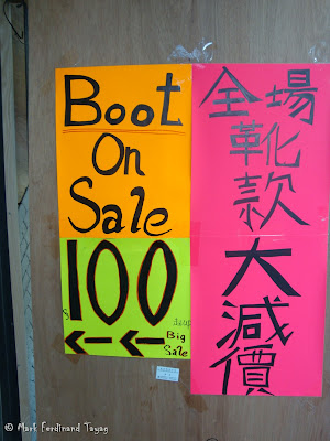 Boot On Sale