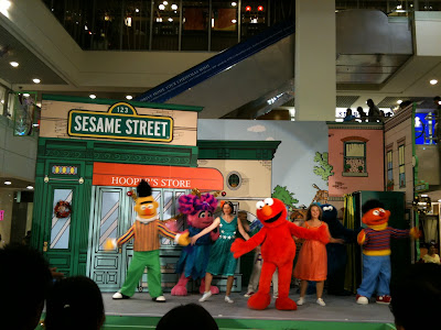 Sesame Street Cast in Singapore 1