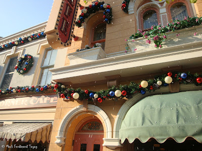 Disneyland Snowing Photo 11