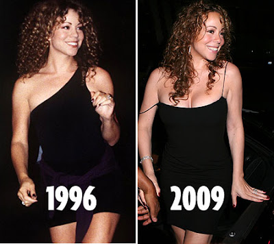 Mariah Carey Before and After