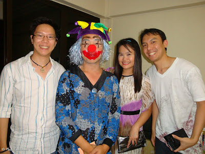 Christmas Clown Party in Singapore 2009 Photo 6