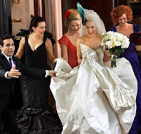 Sex and the City in Carrie's wedding day