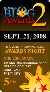 2008 Philippine Blog Awards Winners