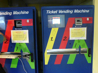 Choa Chu Kang Swimming pool vendo ticket machine
