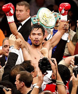Manny Pacquiao Wins On 8th Round