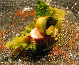 My Body Is Sore - king crab with avocado