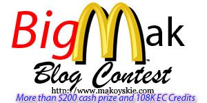 Join The Big Mak Blog Contest