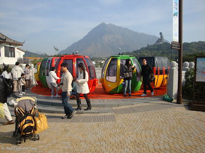 Ngong Ping 360 Miniature Cable Car Photo 2