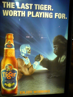 Tiger Beer Singapore Print Ad