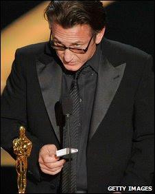 Sean Penn Oscars 2009