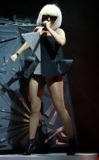 Lady GaGa Crazy Outfit picture 3