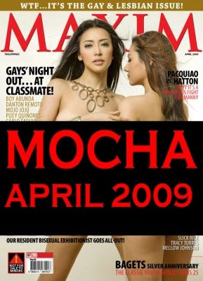 Mocha Uson Maxim Philippines April 2009