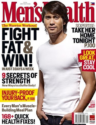 Sam Milby Men's Health Magazine Cover