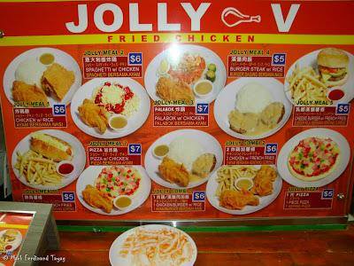 Jolly V Singapore Food Experience Photo