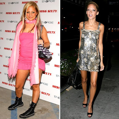 thinspiration nicole richie before and after