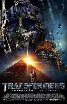 Top 10 Hollywood Movies as of June 28, 2009 Transformers: Revenge of the Fallen