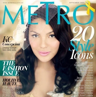 KC Concepcion Metro Magazine September 2009