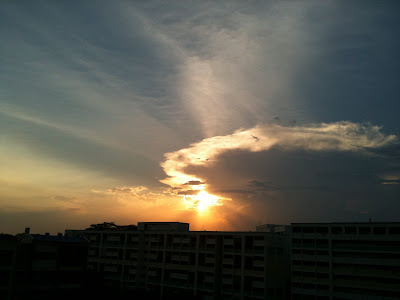 Yishun Sunset Photo 1