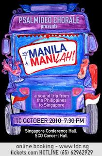 Manila, ManiLAH ! Concert in Singapore