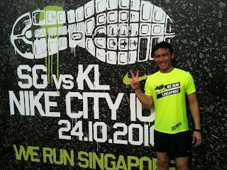 Nike City 10K SG vs KL Experience makoy