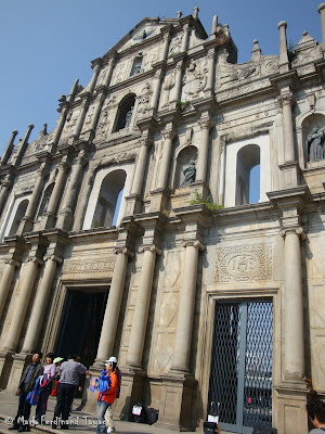 Ruins of St. Paul's Macau Photo 4